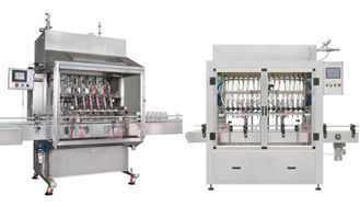 Çin High Pressure 2KW Automatic Bottle Filling Machine For Fruit Juice Filling Tedarikçi