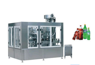 Çin 500ml Drinking Water Packing Machine 3 In 1 Filling Machine 0.2MPa - 0.25 MPa Fabrika
